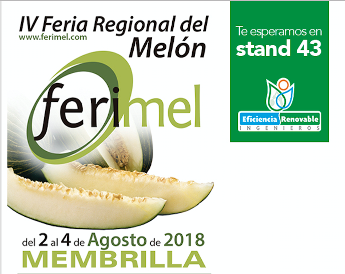 Eficiencia Renovable Ingenieros estará en FERIMEL 2018